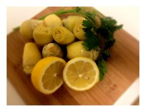 Artichoke Lemon Pistachio Pesto