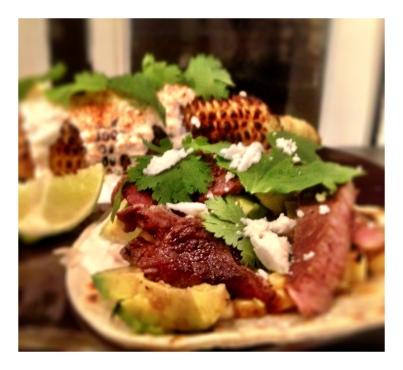 mexican street corn summer asada tacos