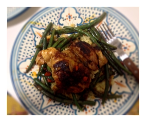 Ethiopian Berbere Chicken Thighs Blue Apron